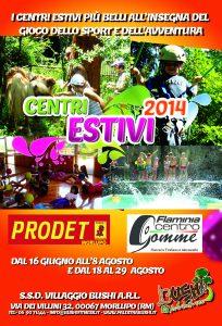 Centri Estivi 2014 Centri Estivi 2014 Centri Estivi 2014 Front Centri Estivi 7 204x300