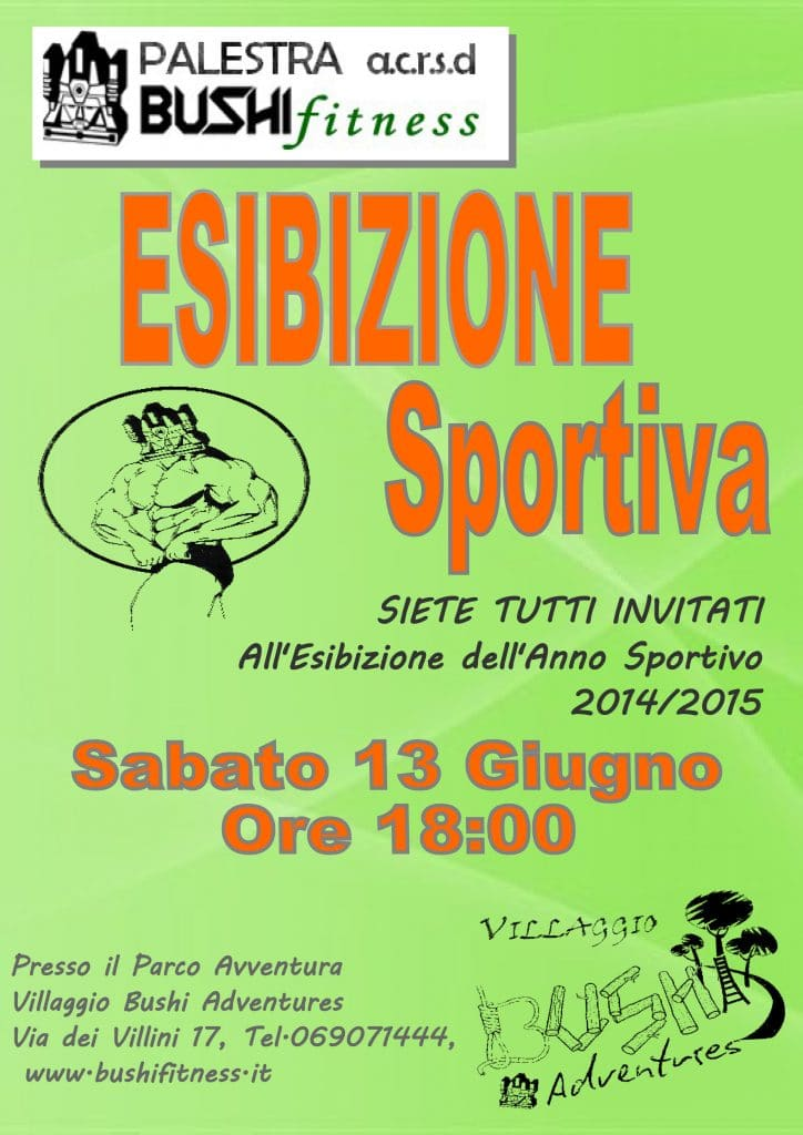 Esibizione Sportiva esibizione sportiva Esibizione Sportiva ESIBIZIONE SPORTIVA 2014 2015 1 724x1024