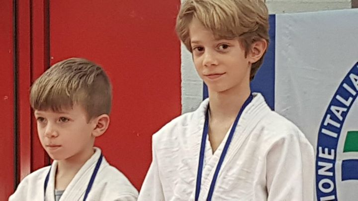 Judo Gran Premio Giovanissimi FILJKAM 2018 Jacopo Bongiorno cat 23 kg maschile f… 29060928 1713302472059213 7180850040836008055 o