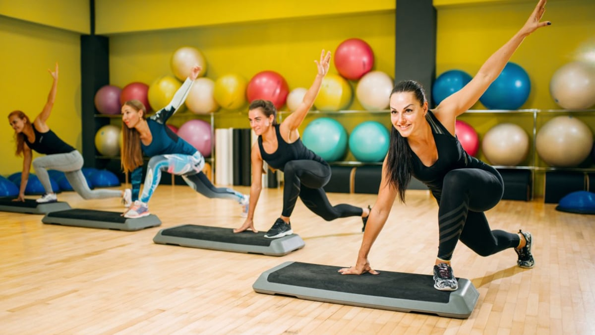 Mix fitness workout home page